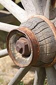 Old Wagon Wheel Hub