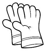 Outline Gardening Hand Gloves