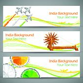 India Banner and Header
