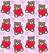 seamless bear pattern