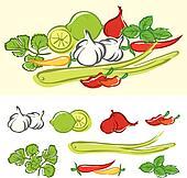 Fresh Cooking Ingredients