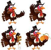 Pilgrim Turkey Set