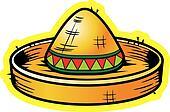 Cartoon Sombrero