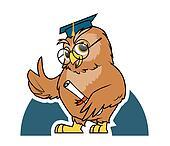 Owl student graduation