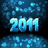 2011 new years card