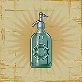 Retro Soda Siphon