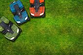 ATV Quad Bikes on Grass