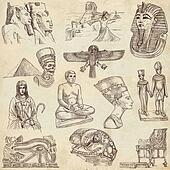 Egypt travel - An hand drawn pack
