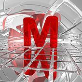 m in futuristic space