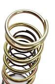 Metal spring coils