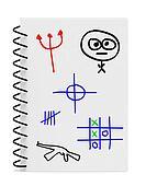 Children Kids Boy Notebook