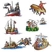 Various ships, boat and more_8