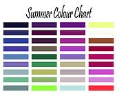 Summer Colour Chart