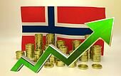 currency appreciation - Norway economy
