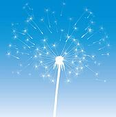 vector dandelion icon