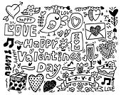Valentine\'s Day doodle