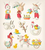 Easter animals