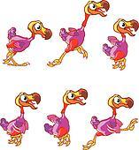 Jumping Dodo Sprite