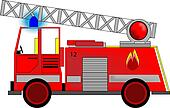 Illustration of Fire Engine