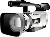 Illustrated video camera
