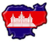cambodia american button map flag
