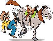 kick start horse