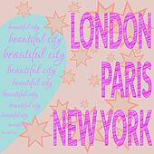 London Paris NY T-shirt