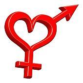 gender sign heterosexual couple