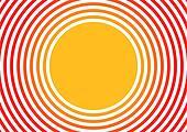radiated sun