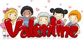 Multicultural Valentine