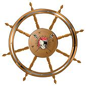 Pirate steering wheel
