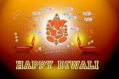 happy diwali- greeting-banner