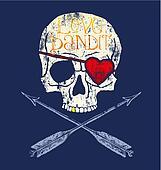 love bandit skull