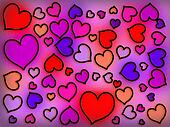Stained Glass Warm Hearts