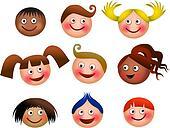 Happy Kids Faces