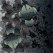 Oil spoill fish