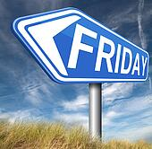Friday sign