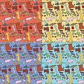 Seamless Animals Pattern
