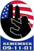 9-11 fireman firefighter American