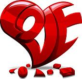 Love Carved Out of a Heart