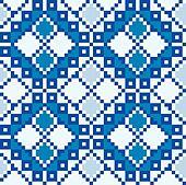 Ukraine ethnic pattern.