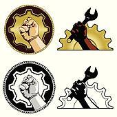 Labor symbols