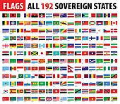 All 192 Sovereign States | World Flags Series