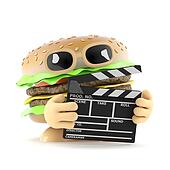 3d Beefburger makes a movie