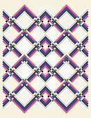 geometric pastel colors background