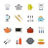 Set of Kitchenware Icon