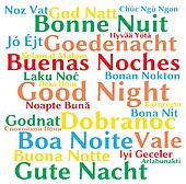 Good night in different languages
