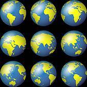 World Globe Maps