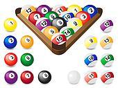 balls for billiards
