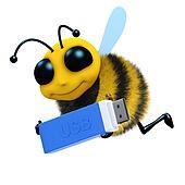 3d Bee USB